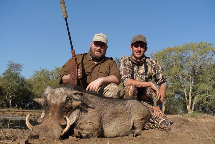 Black Impala, Kudu, Warthog, Red Hartebeest